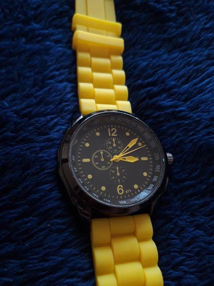 Ръчен часовник - жълт