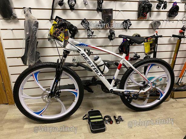 Велосипед Велик литые диски титановые Gestalt g777 Оригинал 26 колесо