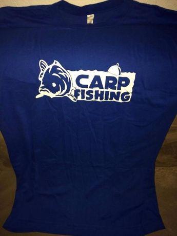 Продавам тениска с надпис!