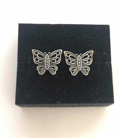 Cercei fluture vintage Pandora