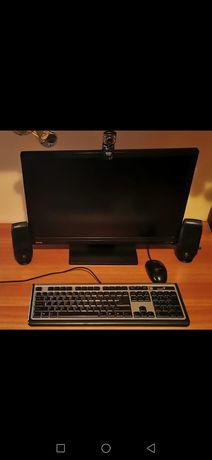 Monitor+tastatura+mouse+boxe+camera web