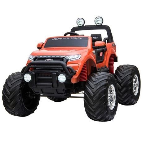 Masinuta electrică pentru 2 copii Ford Monster TRUCK 4x4 24V #Orange