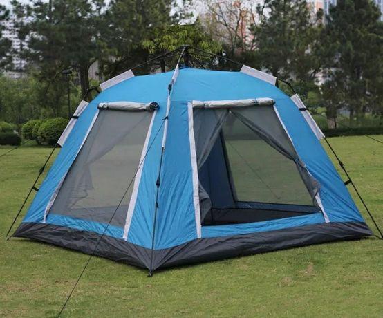 Палатка высокая автоматическая на 4-5 человека с отличной вентиляцией