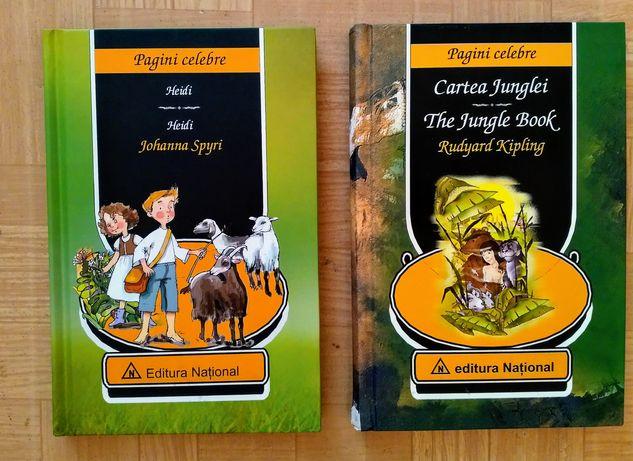 Cartea junglei si Heidi calitate premium
