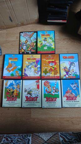 DVD-uri cu Tom si Jerry și Asterix Originale