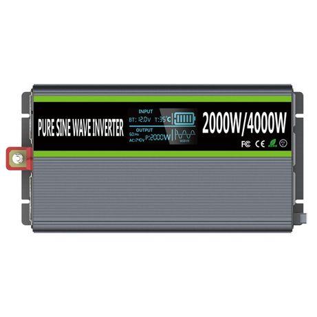 Инвертор (Преобразователь)от 0.6 до 3кВт 12В/220В.встроенный МРРТ конт