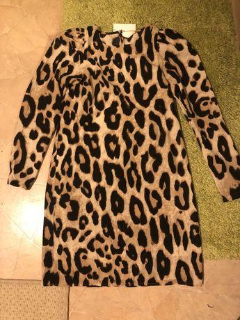 Рокля леопард HM /  НОВА с етикет