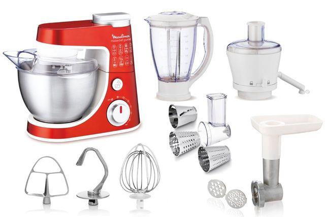 Кухонная машина (Комбайн) MOULINEX Masterchef Gourmet QA 407G31
