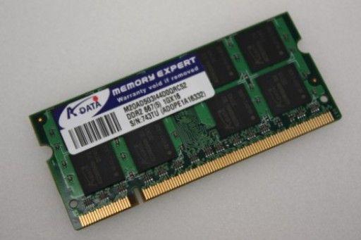 Memorie A-DATA 1GB DDR2 667Mhz 1GX16 PC2-5300 M20AD5G3I44D0QRC52