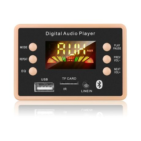 KEBIDU Авто AUDIO PLAYER модул за вграждане 12V Bluetooth 5.0FM/TF/MP3