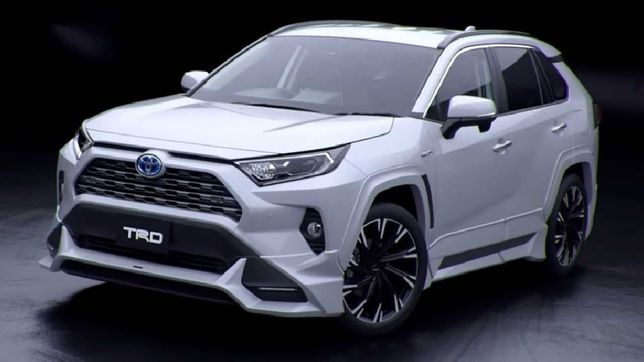 Trd губа для Toyota RAV4 2020