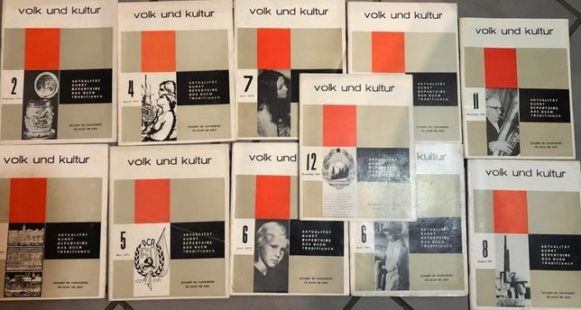 Reviste volk und kultur anii 1970-1971