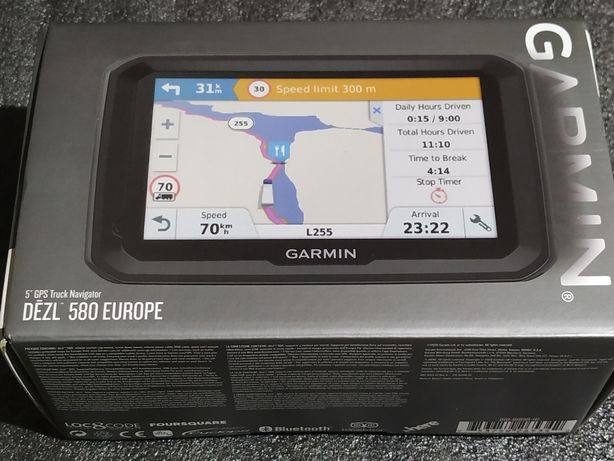 Garmin dezl580 Europe Gps Navigatie Tir Camion Truck NOU NU Tomtom Pro