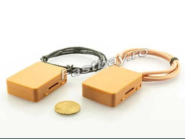 Cutiuta GSM cu Casti Microvibratii pe timpan-Sistem Copiat cu Magneti!