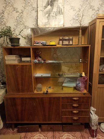Много мебели дёшево дерево шкаф сервант буфет тумба книжные полки