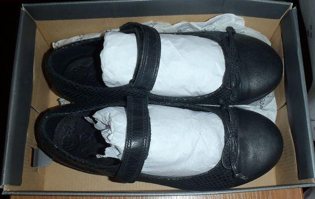 туфли ЕССО черные 34 и 35