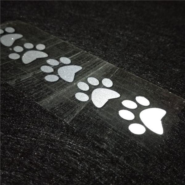 Термозалепваща се светоотразителна лента във формата на стъпчици. Напр гр. Благоевград - image 1