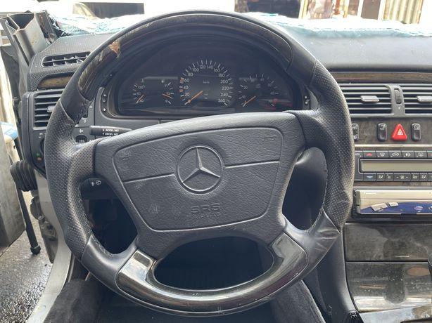 W210 w124 w140 анотамичексие руль  акпп ручка авангард дерева