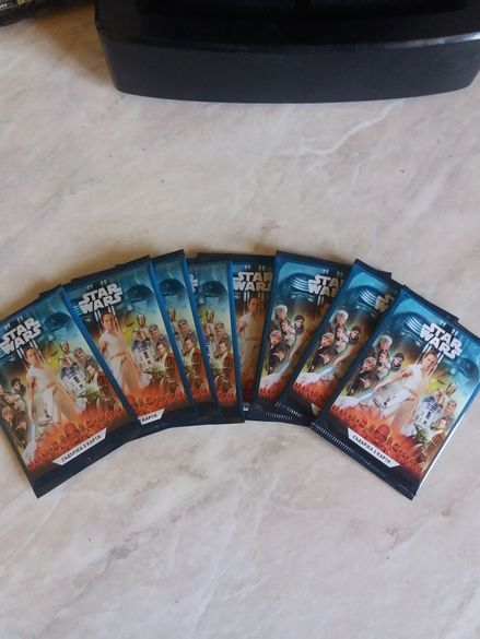 Карти Star Wars 0.50 ст. Всички номера
