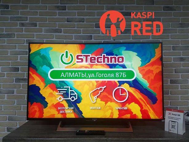 ТВ Smart 4K 124см Sony KDL-49XF8096 Рассрочка KASPI RED!Гарантия год!