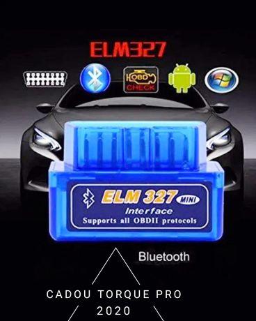 OBD2 Bluetooth ELM327 Diagnoza Auto Torque v2.1 (Tester Auto)Original