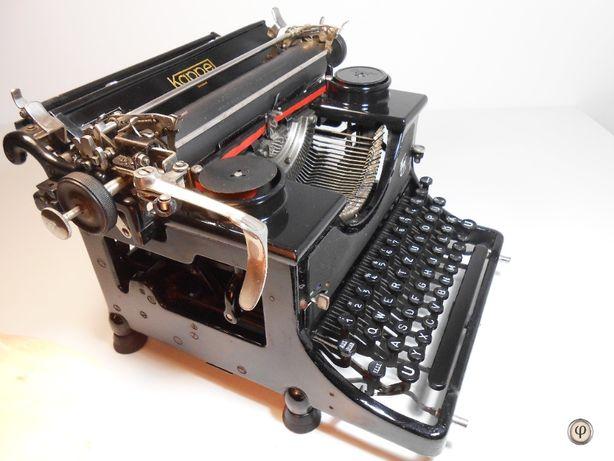 Mașina de scris Kappel, 1937. O piesă istorică gata de scris.