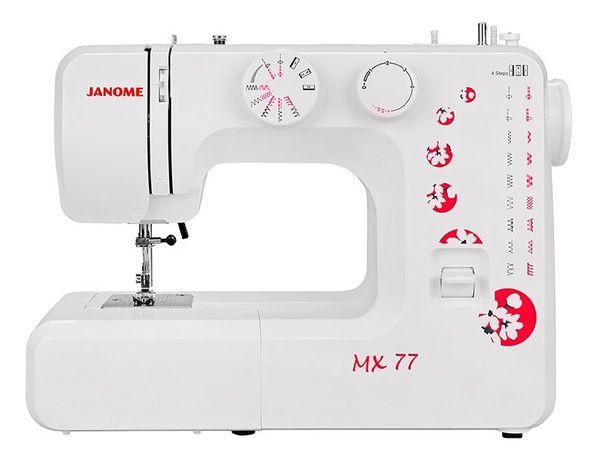 Швецная машинка janome mx 77