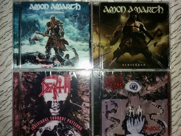 Оригинални дискове - Sepultura, Slayer, Metallica, Pantera