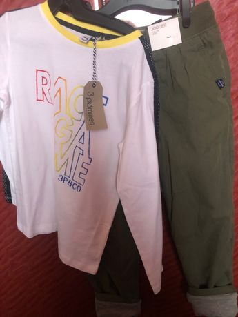 H&M Спортен панталон-Блуза