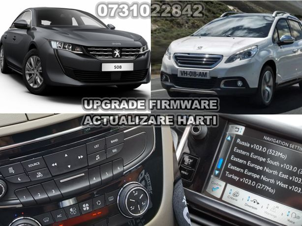 Actualizare Harti Navigatie, RT6-SMEG+pentru Peugeot si Citroen