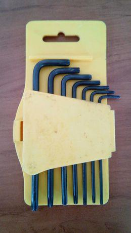 Шестограми комплект Torx Topmaster CR-V TMP 7 бр