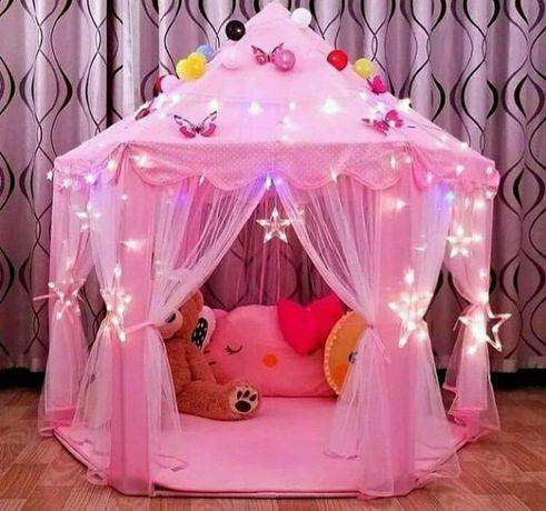 Детская игровая палатка шатер и Гирлянды Алматы