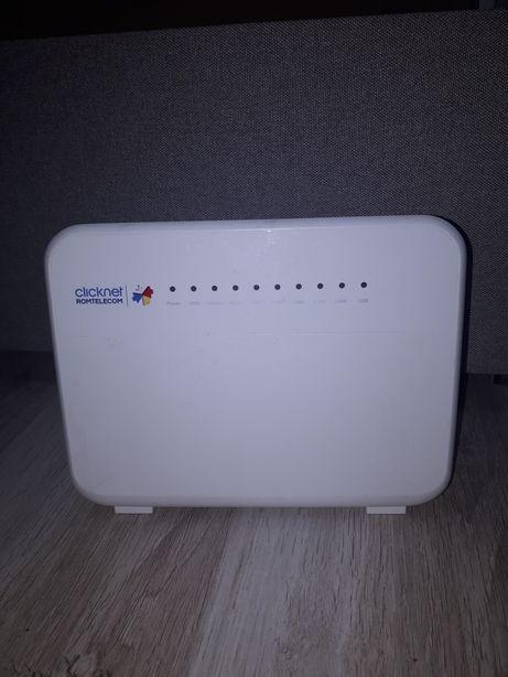 Router wireless click-net Romtelecom