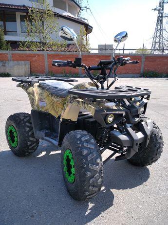 """Бензиново ATV/АТВ 150 Кубика с 8"""" гуми, подсилено шаси"""