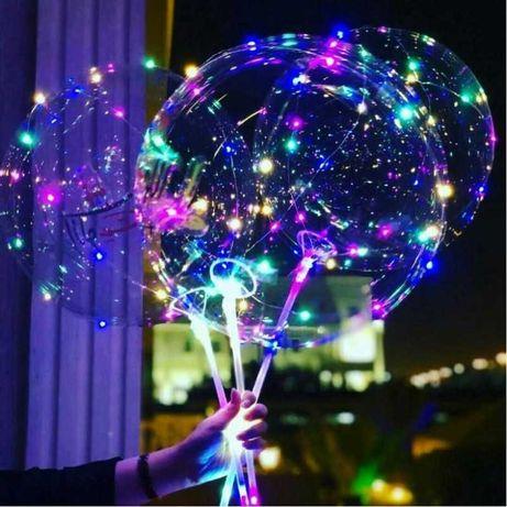 Шары Бобо - светящиеся шары на палочке!Новинки!Подарки в Алматы!