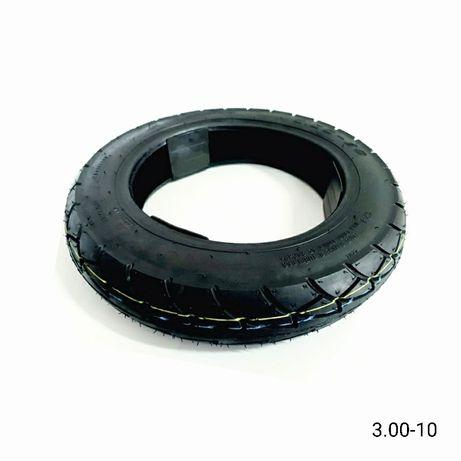 Външна гума 3.00-10 • Предна гума за електрическа триколка