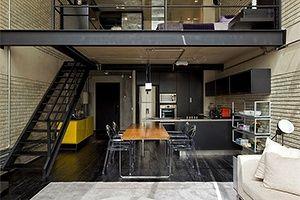 Антресольные этажи, мезанин, мезонин, деление на этажи