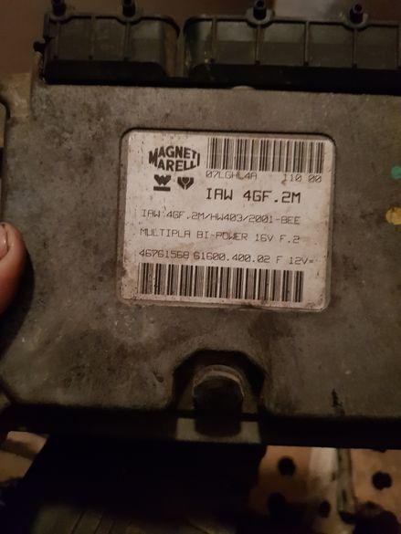 фиат мултипла 1.6 103 К. С части