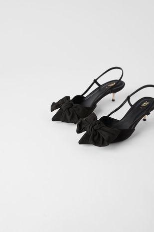 Sandale Zara cu funda - 36