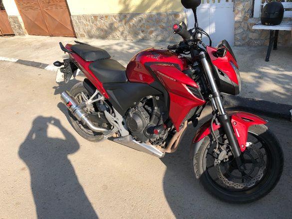 Honda cb500f abs 2013