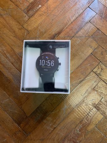Smartwatch Fossil The Carlyle HR Silicone Nou Sigilat