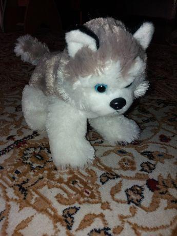 Собачка мягкая игрушка Хаски 40 см Размер: 40 см новая мягкая
