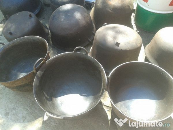 Vand cazane/ceaune/tuci/caldari de fonta