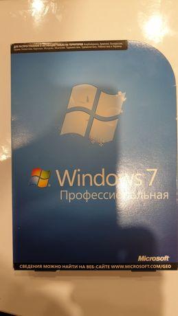 Windows 7 Pro лицензионная в коробке