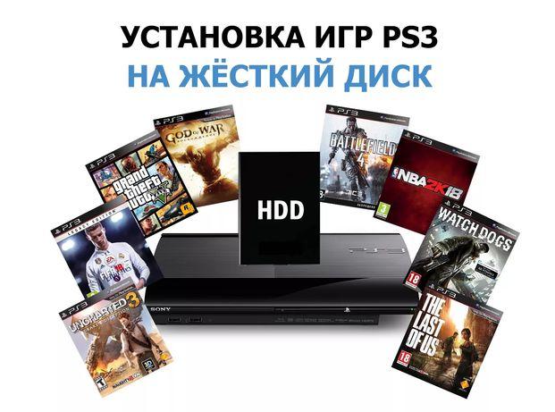 Игры на приставку PS3