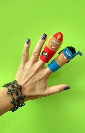 Vintage марионетки за пръсти
