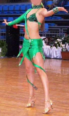 Rochie de dans sportiv – Latino