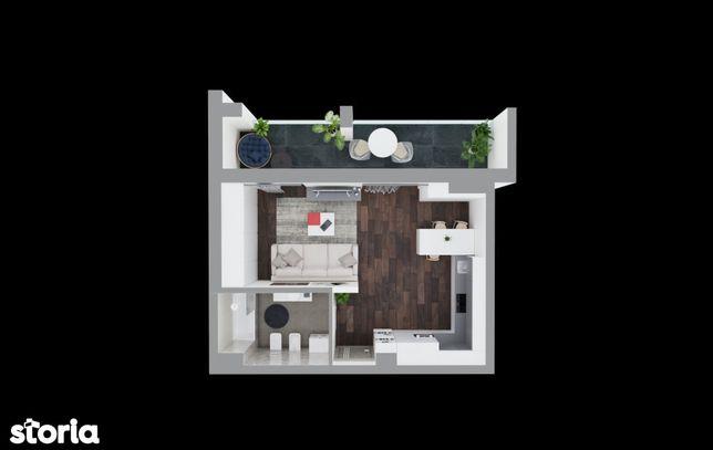 Studio apartment - 55000 euro, direct de la dezvoltator