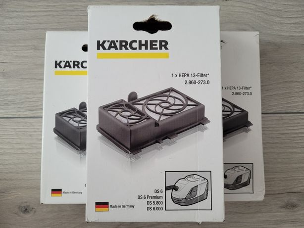 Filtru HEPA 13 pentru aspiratoare Karcher seria DS