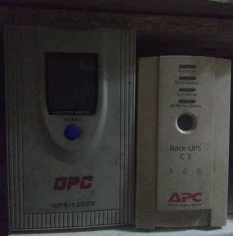 Ups : Apc , OPC ups-1200V,  и др.